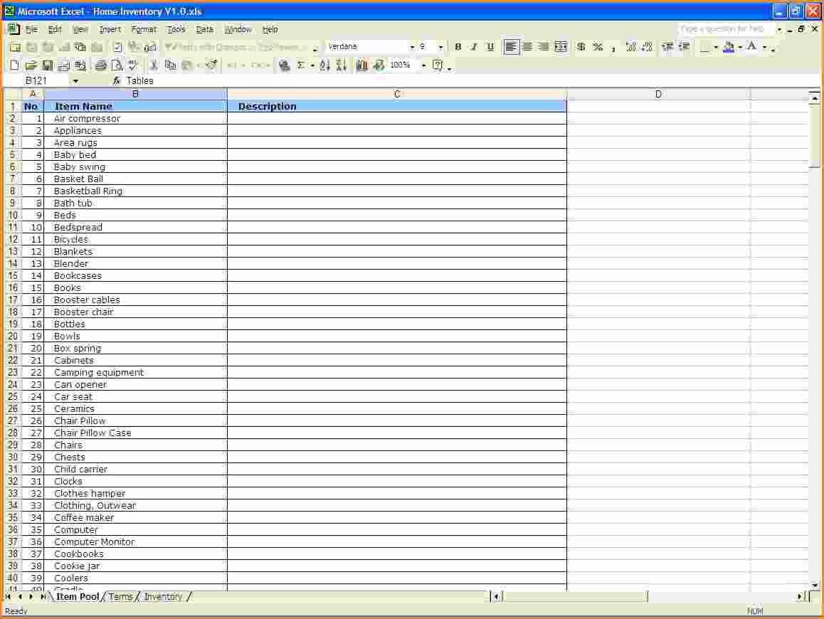 Inventory Spreadsheet Template For Excel Spreadsheet Templates For Business Ms Excel Spreadsheet