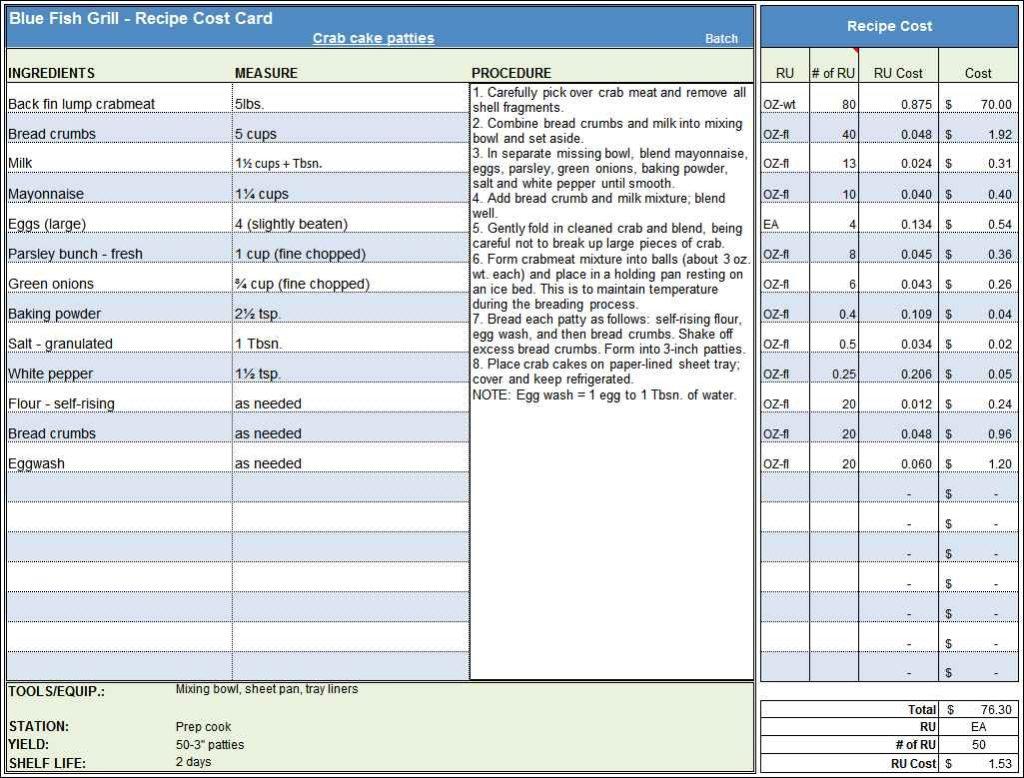 Costing Spreadsheet Template 1 Costysis Spreadsheet