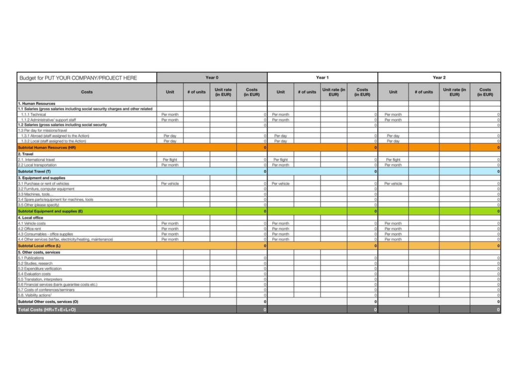 Excel Spreadsheet Template For Medical Expenses Spreadsheet Template Spreadsheet Templates For