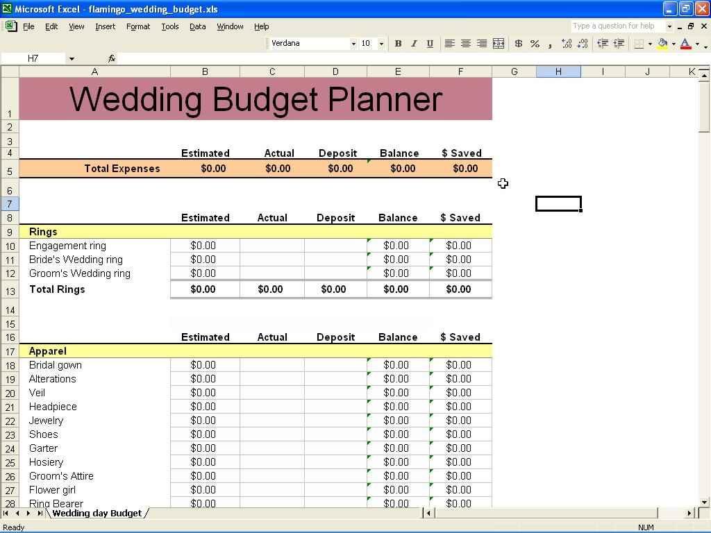 Financial Planning Spreadsheet Spreadsheet Templates For
