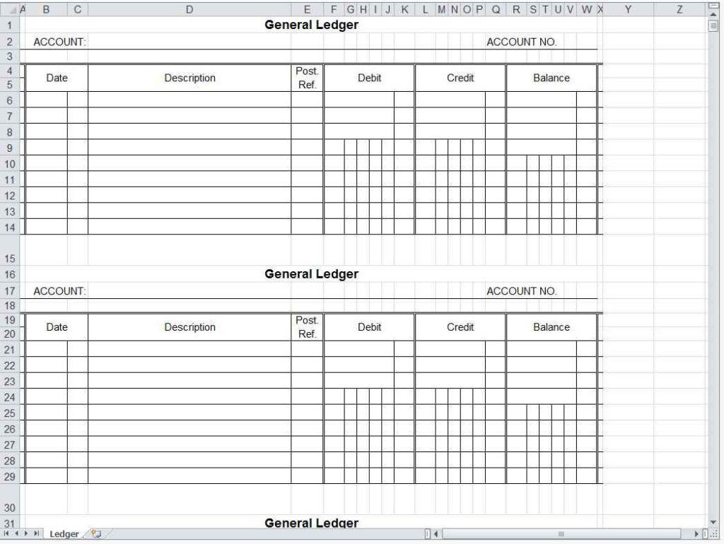 Free Blank Spreadsheet Templates