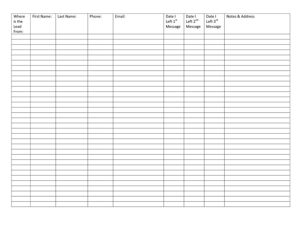 Printable Spreadsheet Template Spreadsheet Templates For Business Printable Spreadshee Free