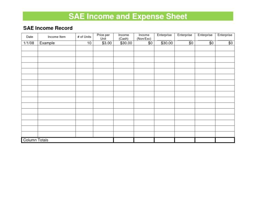 Sample Expense Spreadsheet Expense Spreadsheet Spreadsheet
