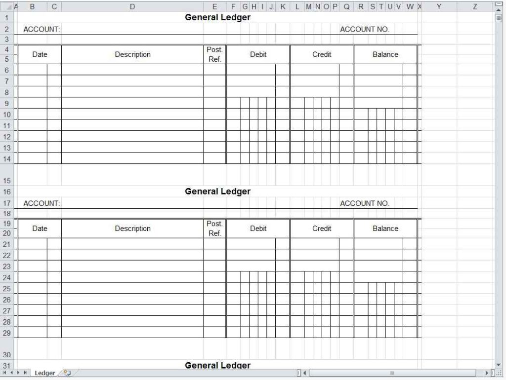 Bookkeeping Spreadsheet Template Free Bookkeeping