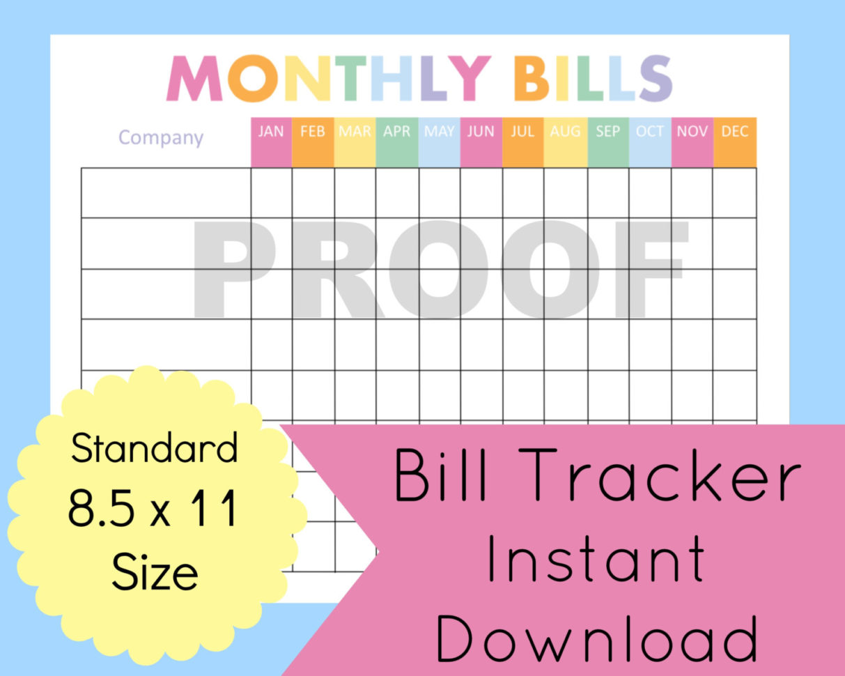 Budget Planner Template 1 Monthly Financial Planning
