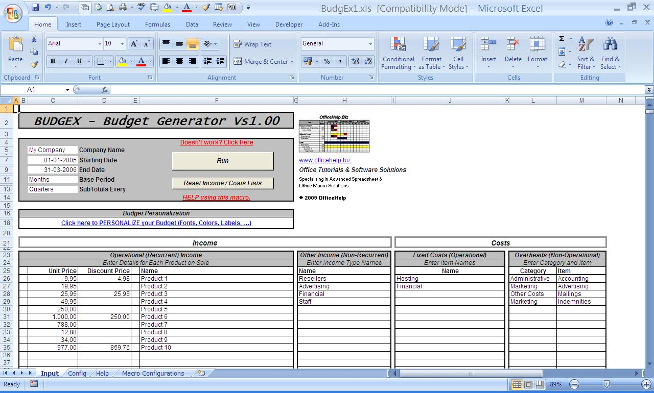 Advanced Excel Spreadsheet Templates Microsoft Spreadsheet