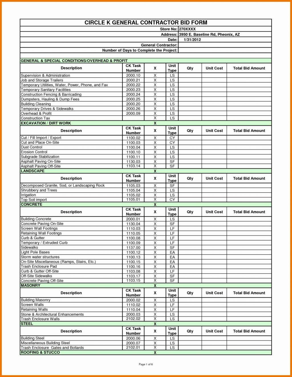 44 Lovely Job Estimate Template Excel Resume Cover Center