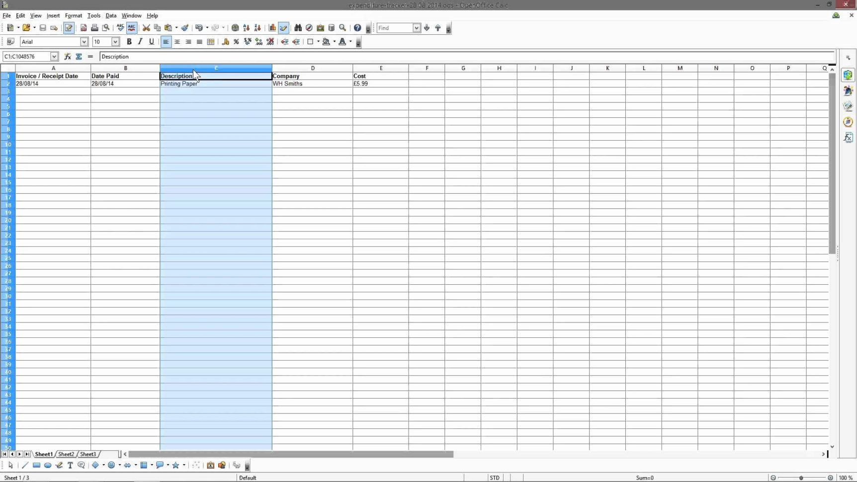 Free Accounting Worksheets Excel Spreadsheet Template Free
