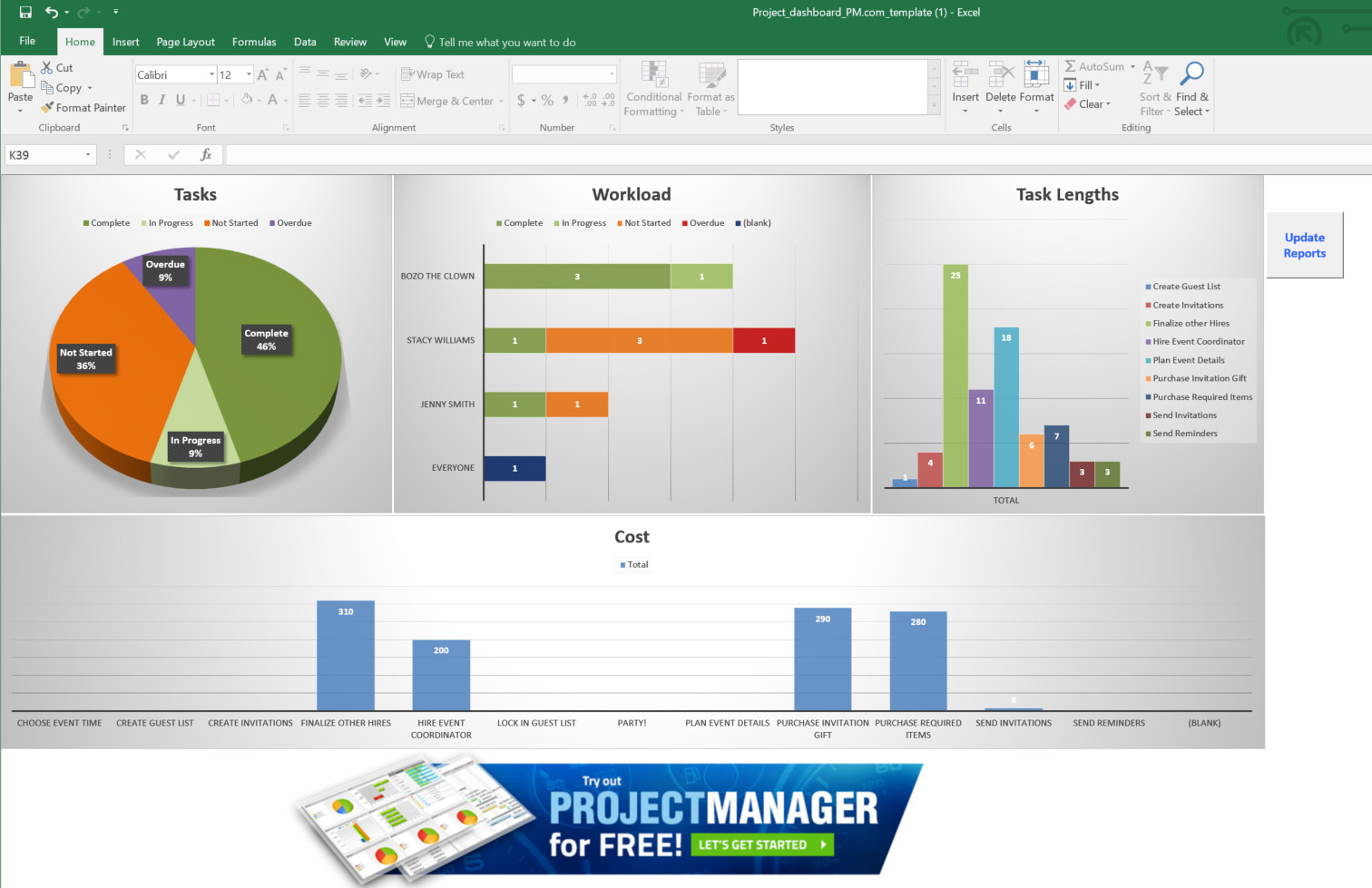 Guide To Excel Project Management