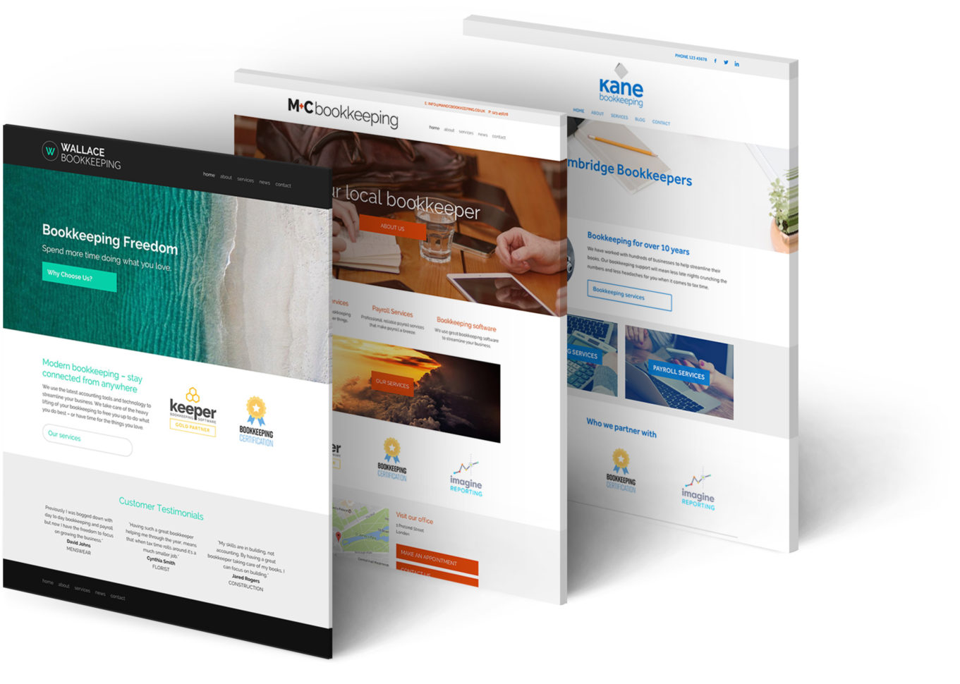How To Create A Great Bookkeeper Website To Bookkeeping