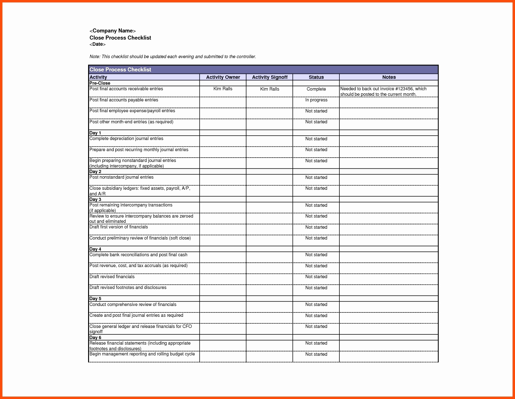 Probate Accounting Template Excel New Probate Accounting