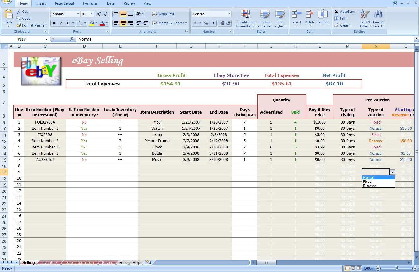 Ebay Bookkeeping Spreadsheet Free Bookkeeping Spreadshee Ebay Bookkeeping Spreadsheet Free
