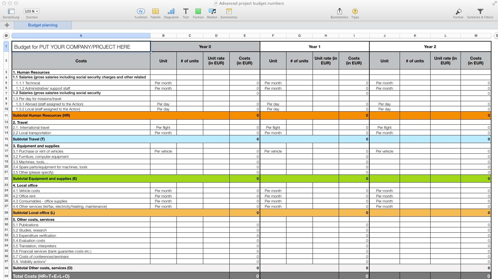 Spreadsheet For Mac Templates Numbers Pro Hero Accurate