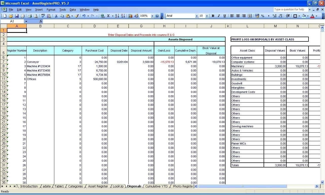 Accounts Receivable Excel Spreadsheetttemplate