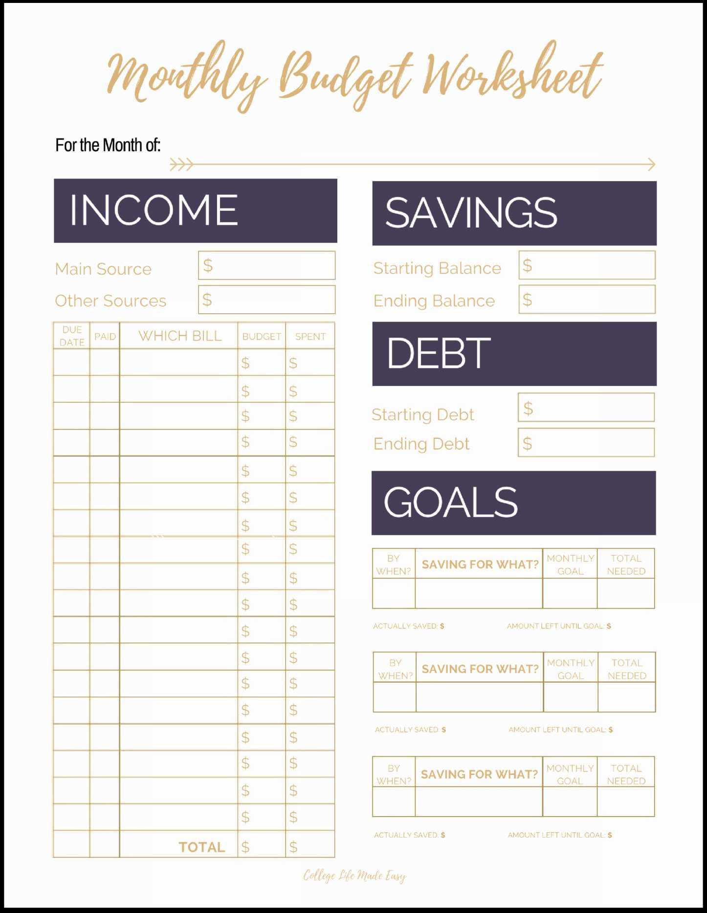 Debt Payoff Spreadsheet Template Debt Payoff Worksheet