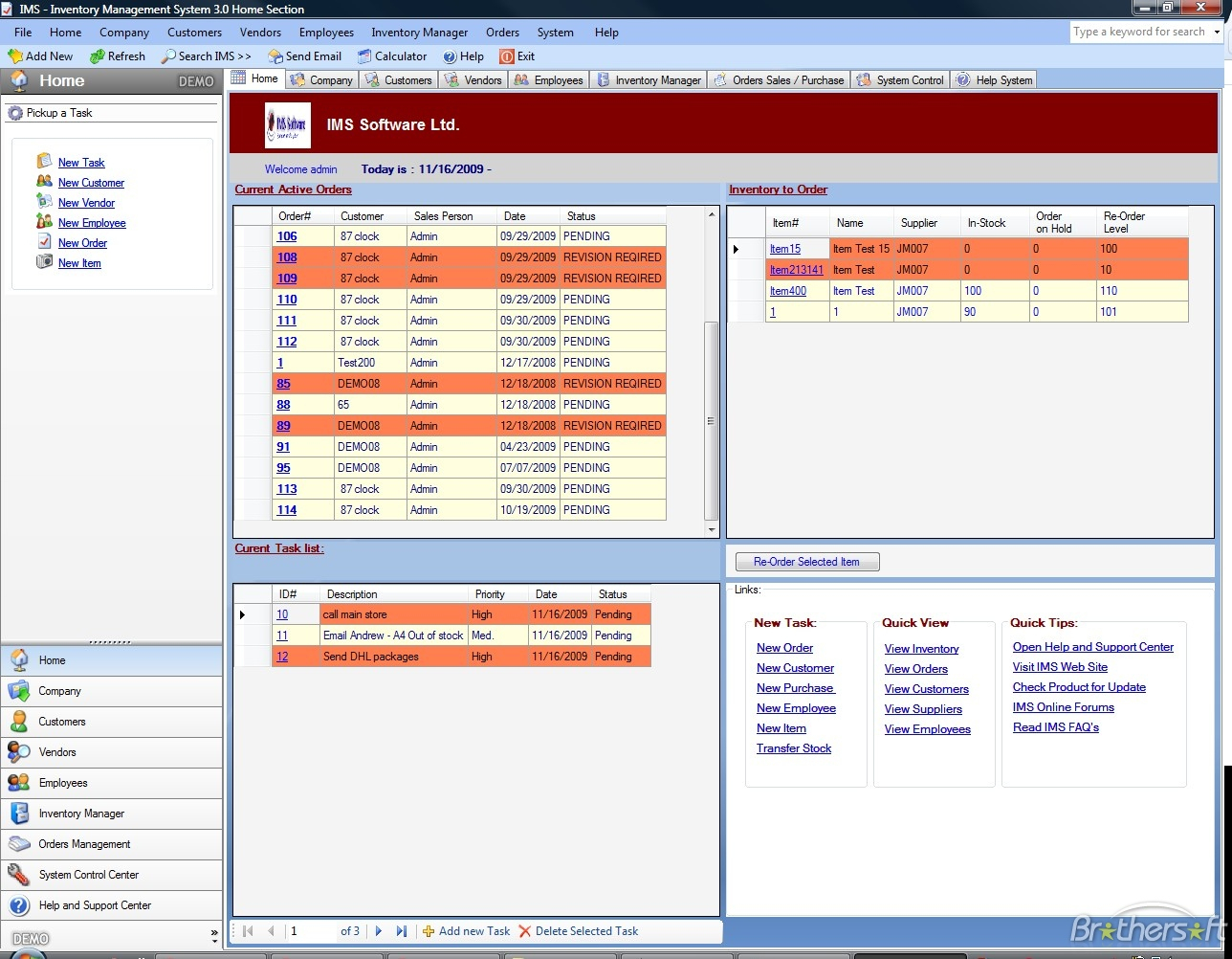 Download Free Ims Inventory Management Software Ims