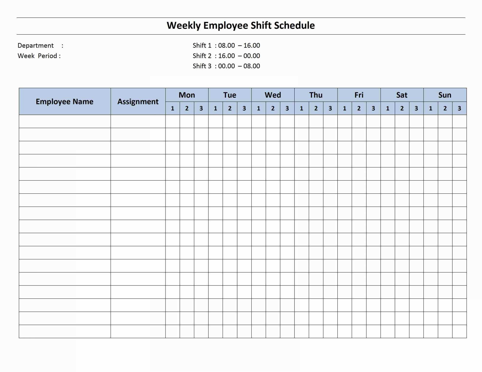 Employee Schedule Excel Spreadsheet Spreadsheet Softwar