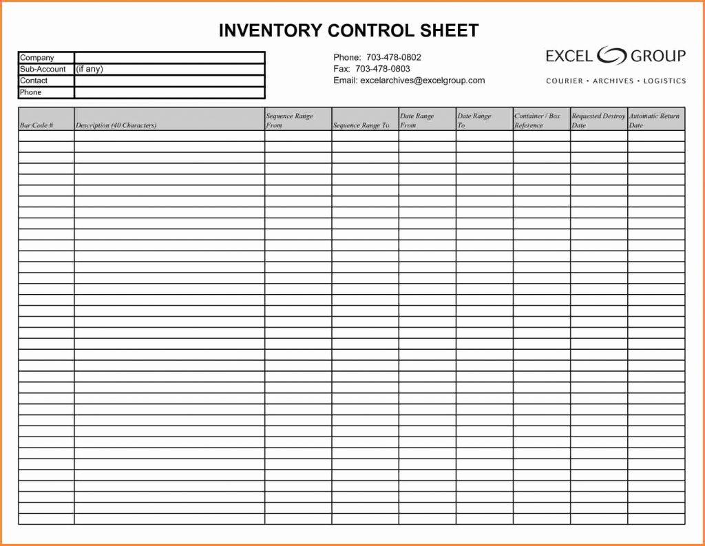 Example Of Bar Liquor Inventory Spreadsheet Sample Lovely