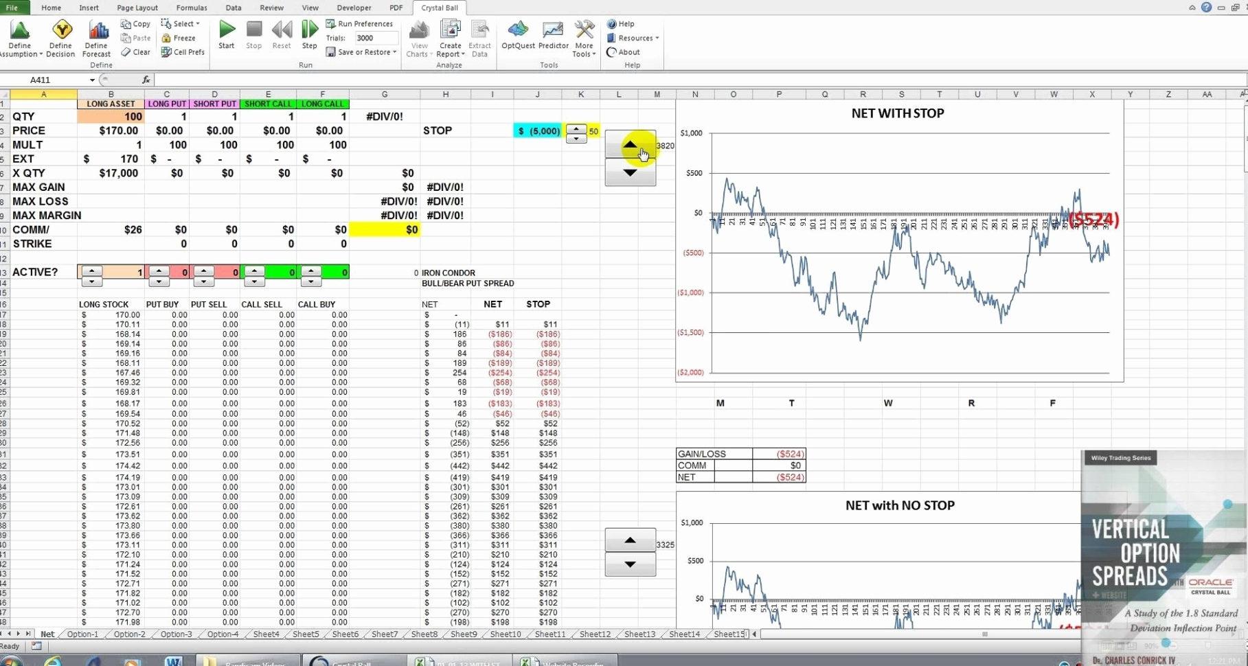 Option Trading Worksheet Excel
