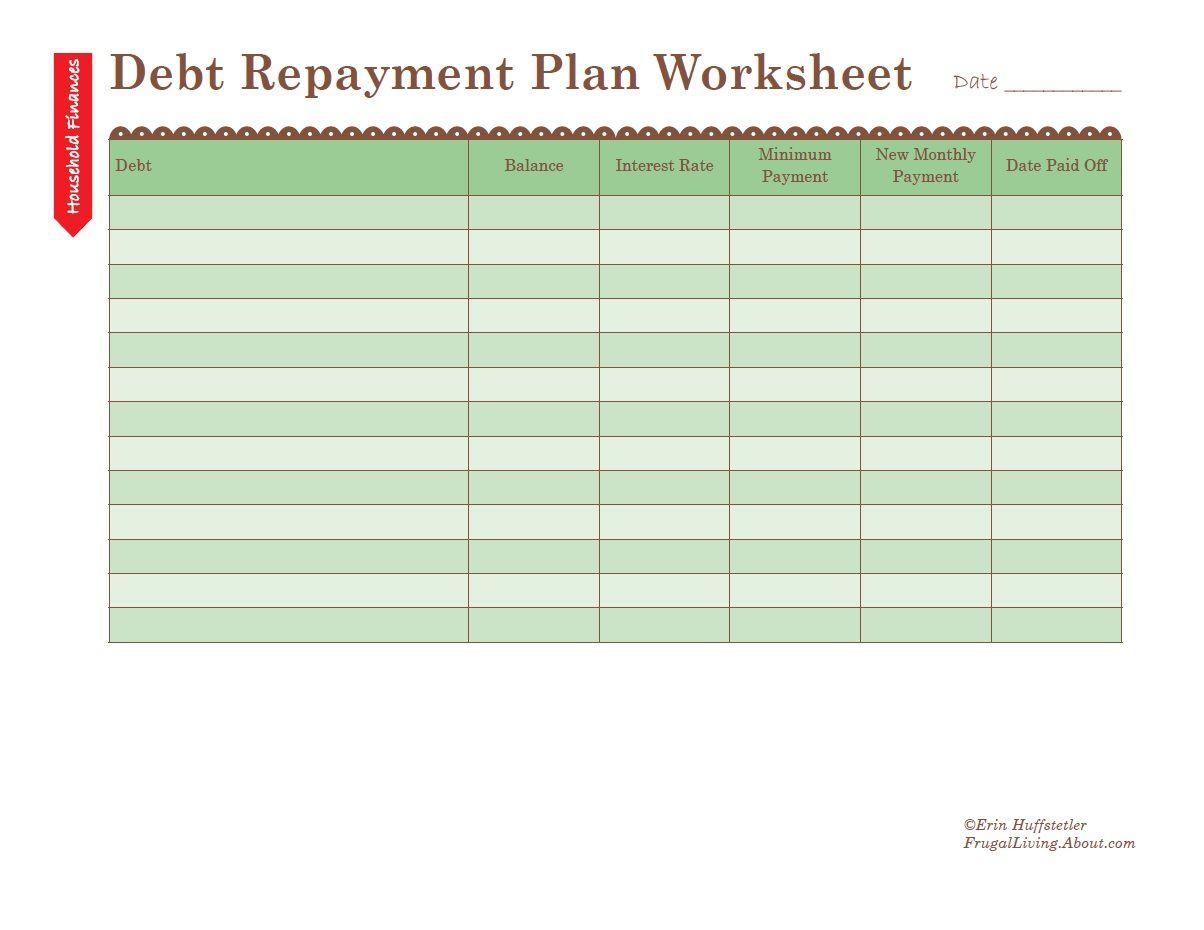 Get Out Of Debt Budget Spreadsheet Spreadsheet Softwar Get