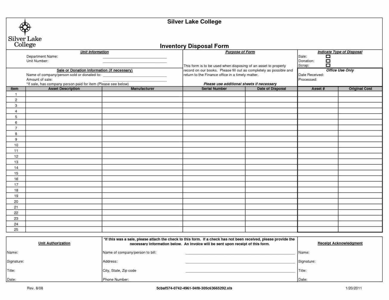 Inventory Control Excel Template Eliolera In Inventory
