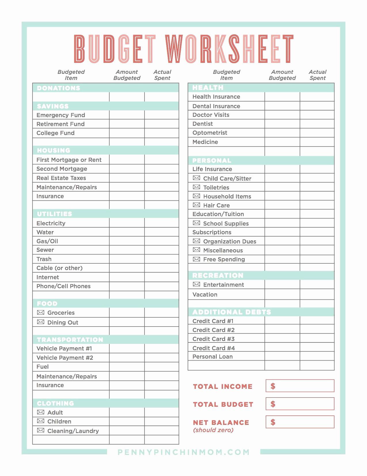 Get Out Of Debt Budget Spreadsheet Spreadsheet Softwar Get