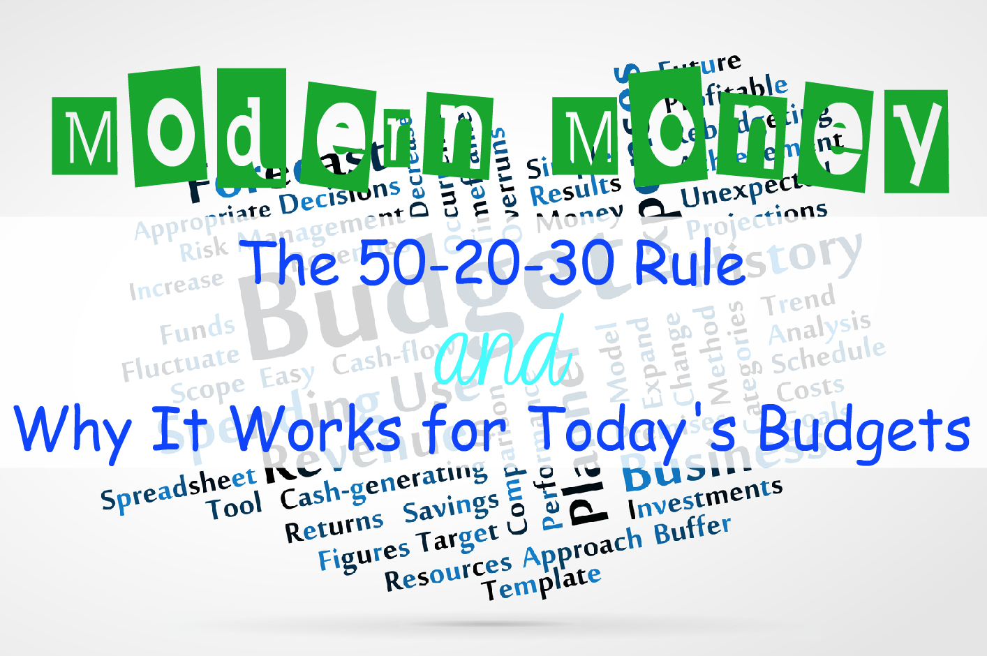 50 20 30 Rule Spreadsheet In Modern Money The Rule