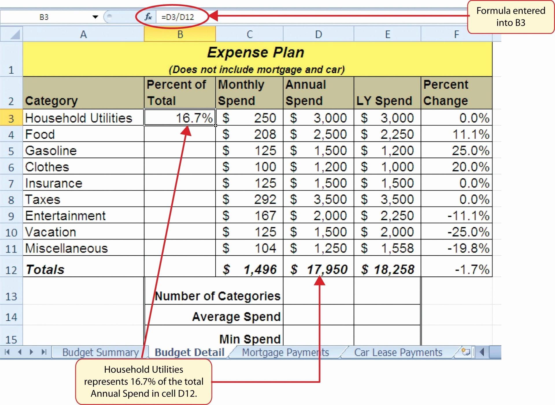 Advanced Excel Spreadsheet Assignments With Regard To