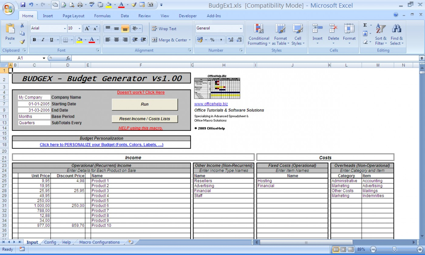 Advanced Spreadsheet Software In 023 Template Ideas