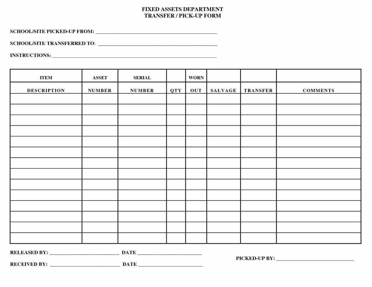 Asset Inventory Spreadsheet Spreadsheet Downloa Personal