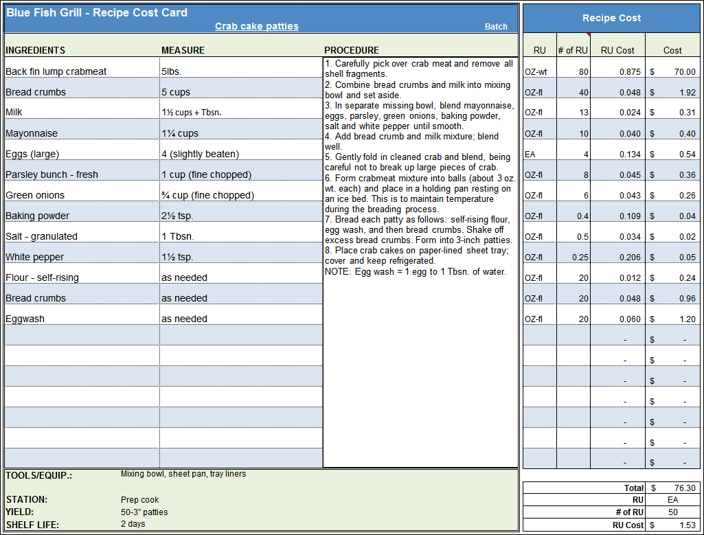 Bakery Expenses Spreadsheet Spreadshee Bakery