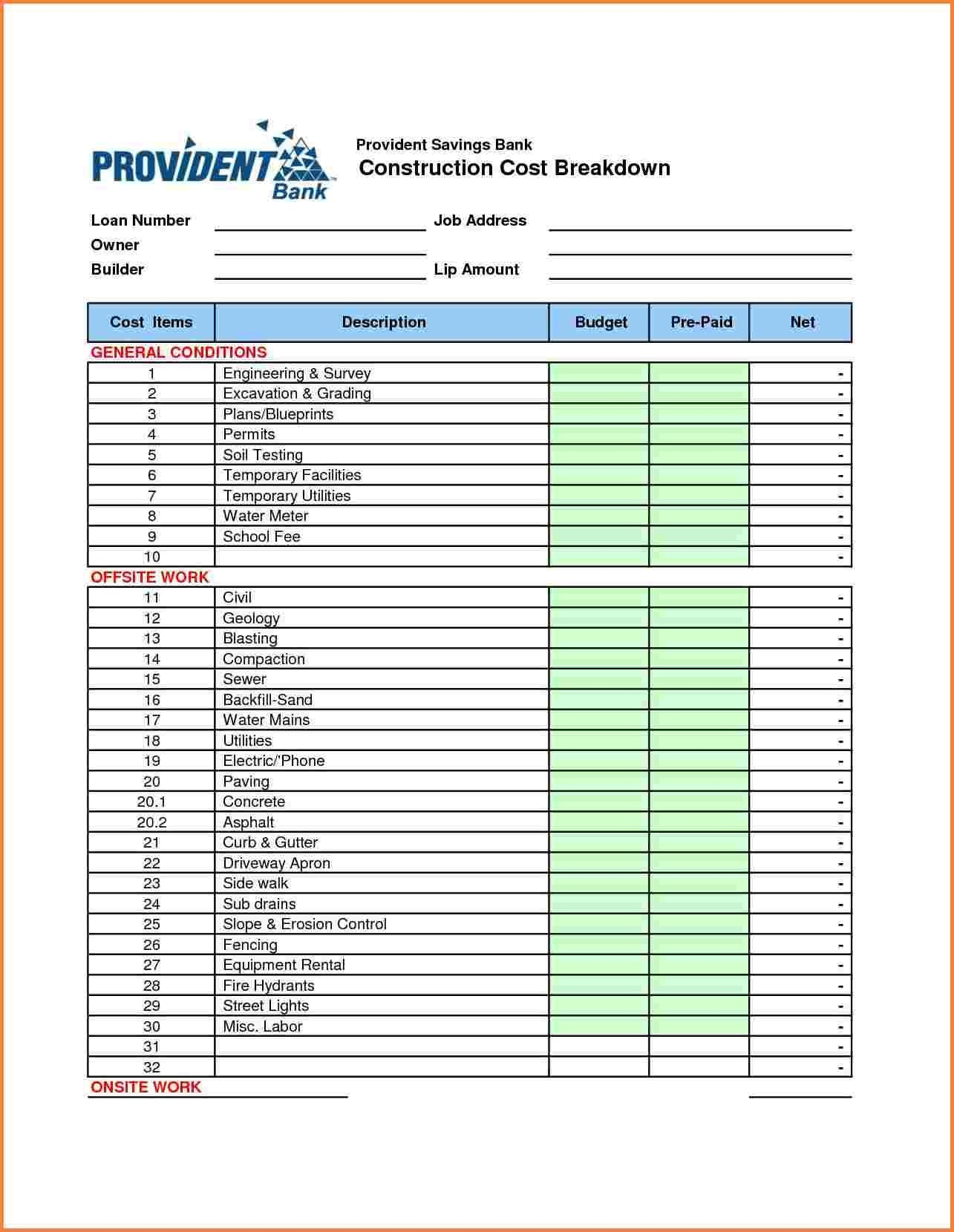 Best Wedding Budget Spreadsheet Spreadshee Best