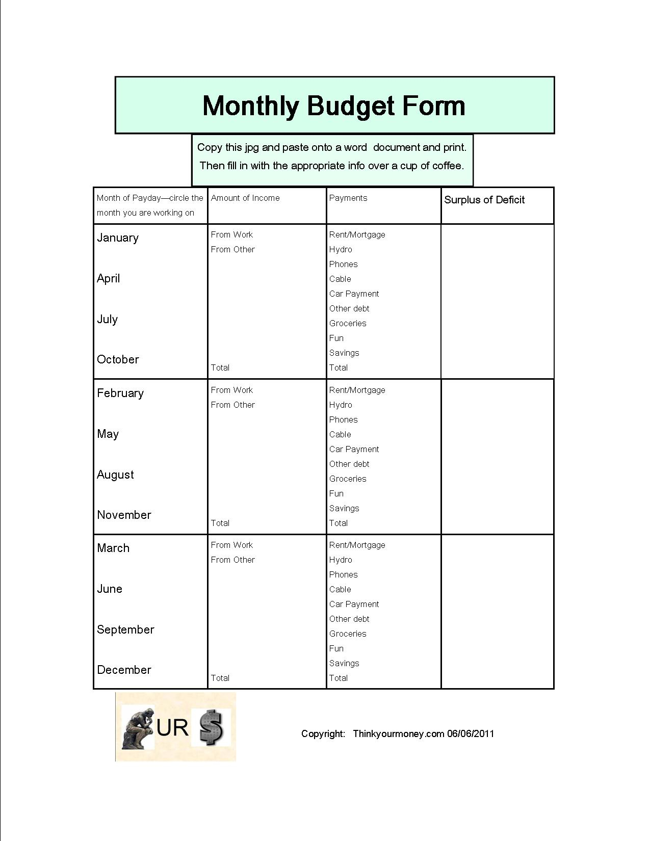 Bi Weekly Expenses Spreadsheet Spreadsheet Downloa Bi