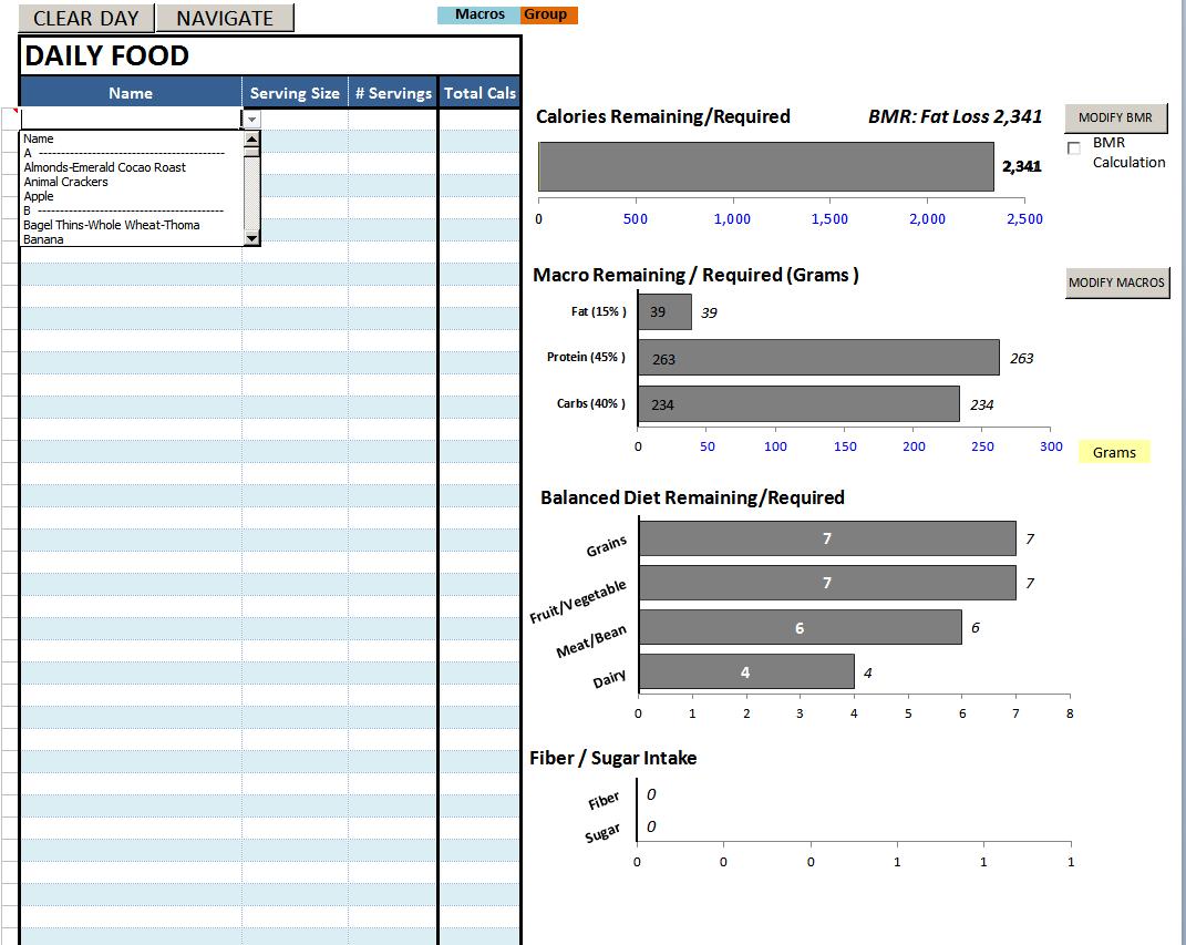 Body Beast Meal Plan Spreadsheet Spreadshee Body