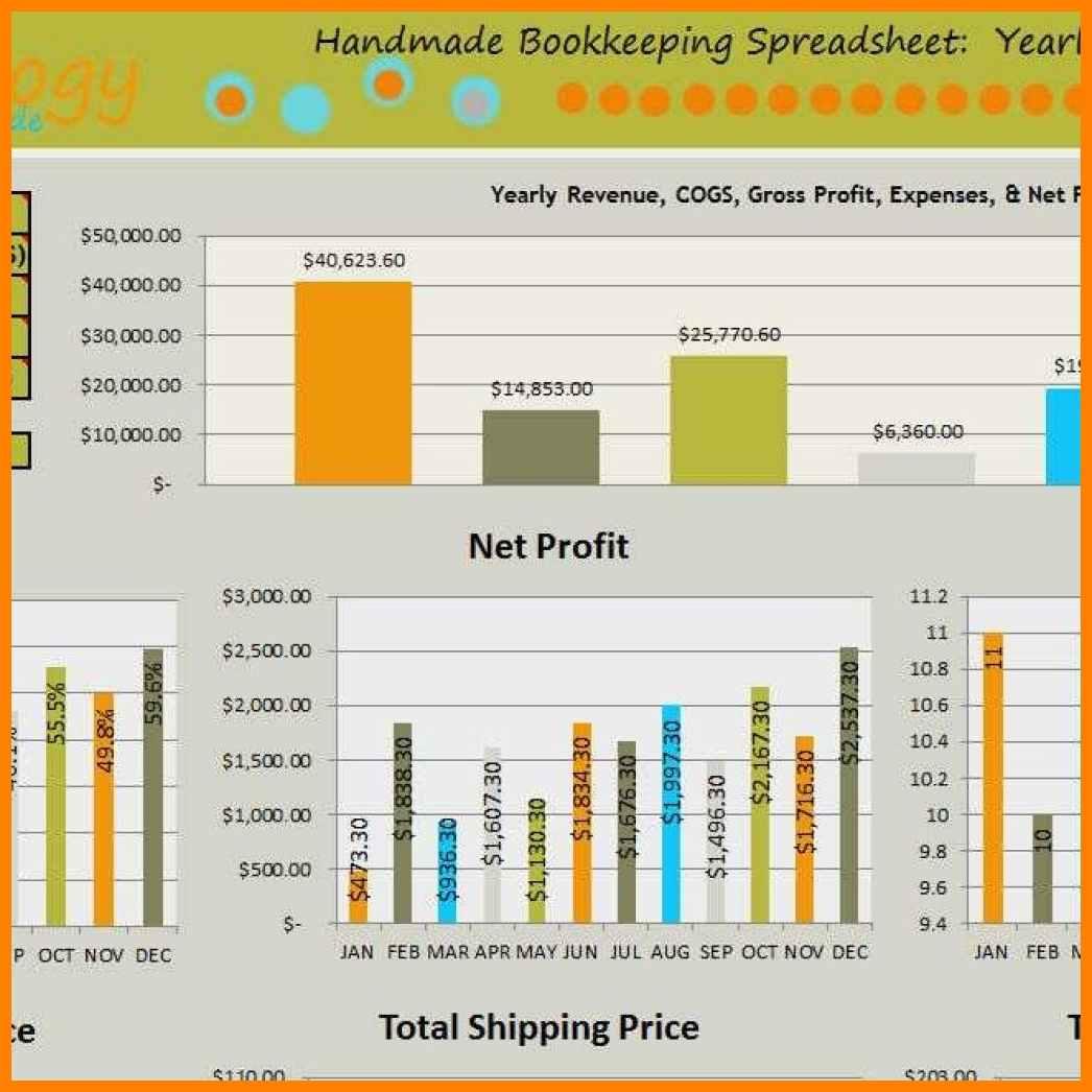 Bookkeeping Spreadsheet Example Spreadsheet Downloa