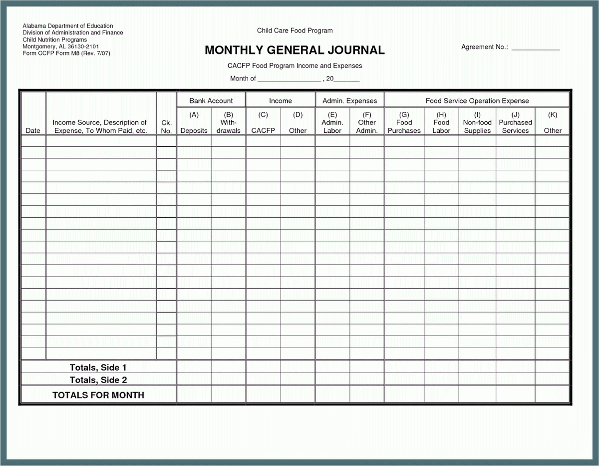 Business Spreadsheet Income Expenses Pertaining To Small