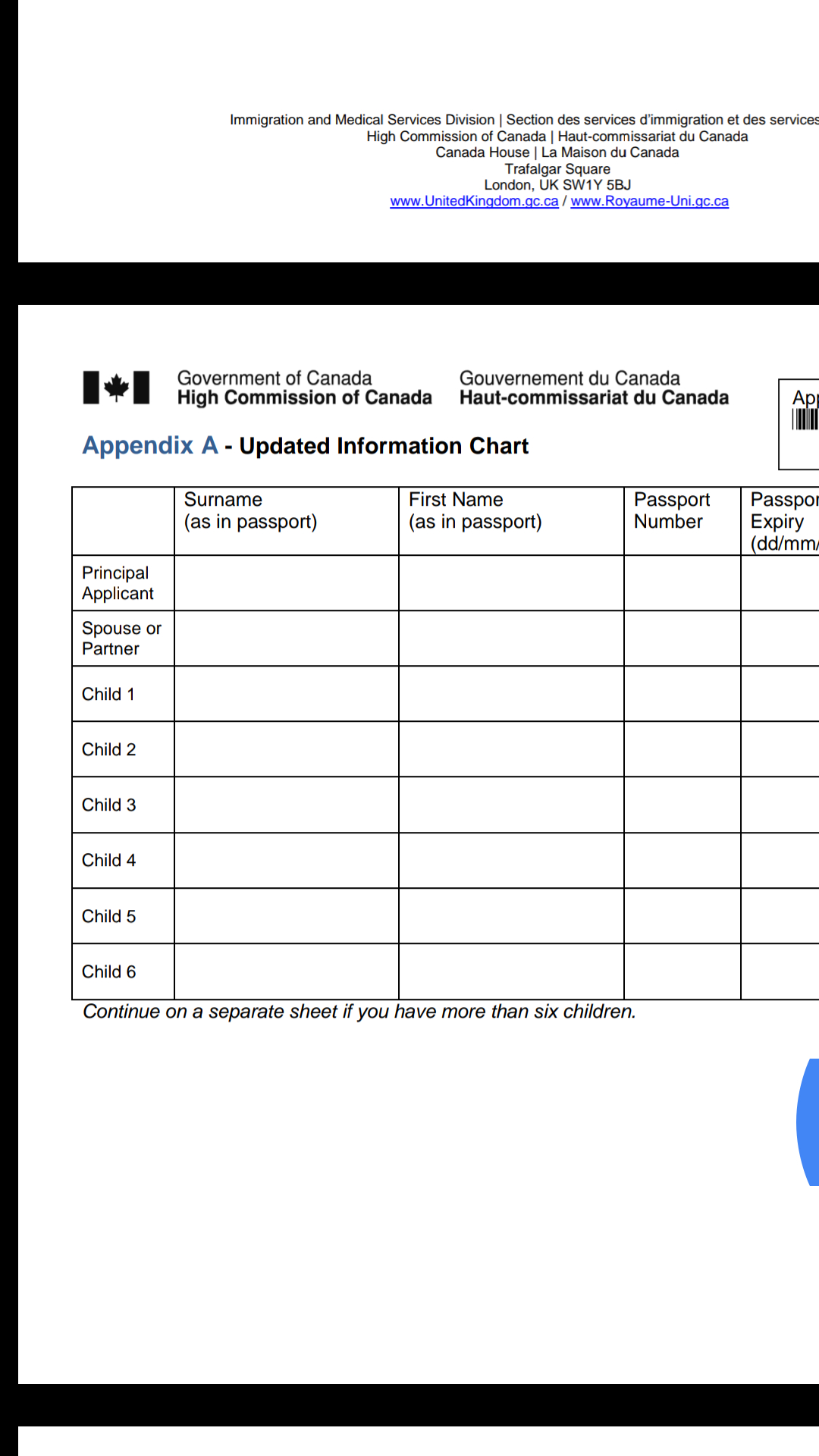 Canadian Citizenship Timeline Spreadsheet For