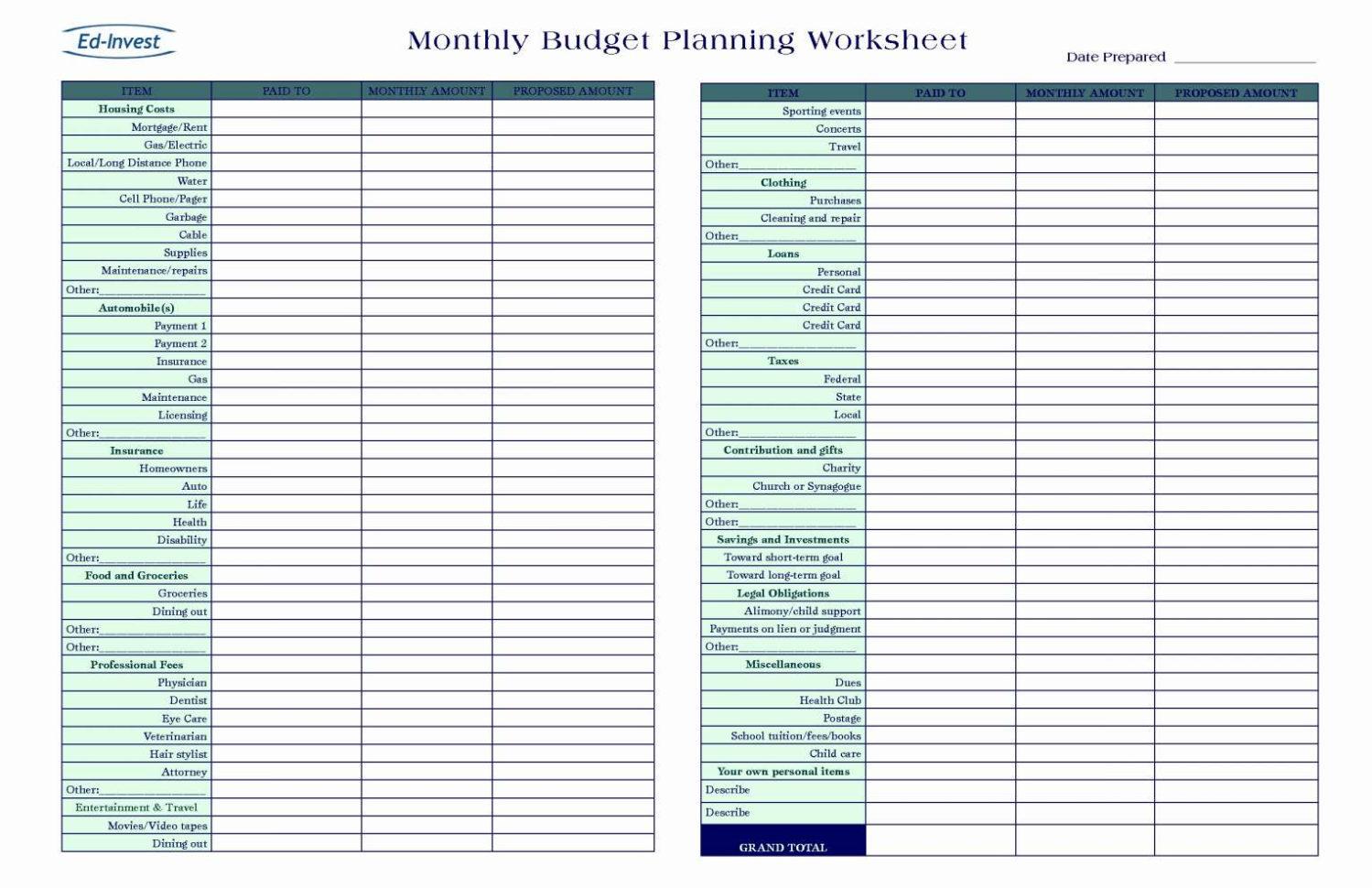 Child Expenses Spreadsheet Spreadsheet Downloa Child