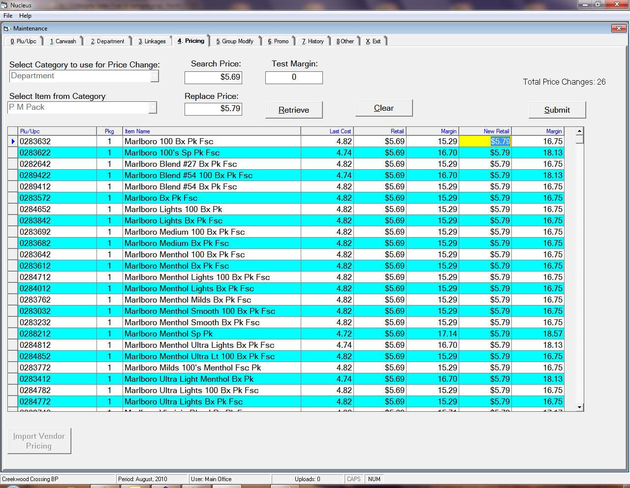 Cigarette Inventory Spreadsheet Spreadshee