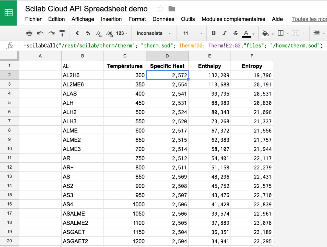 Cloud Based Spreadsheet Inside Cloud Spreadsheet App With