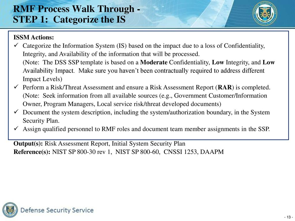 Cnssi Spreadsheet Pertaining To Defense Security