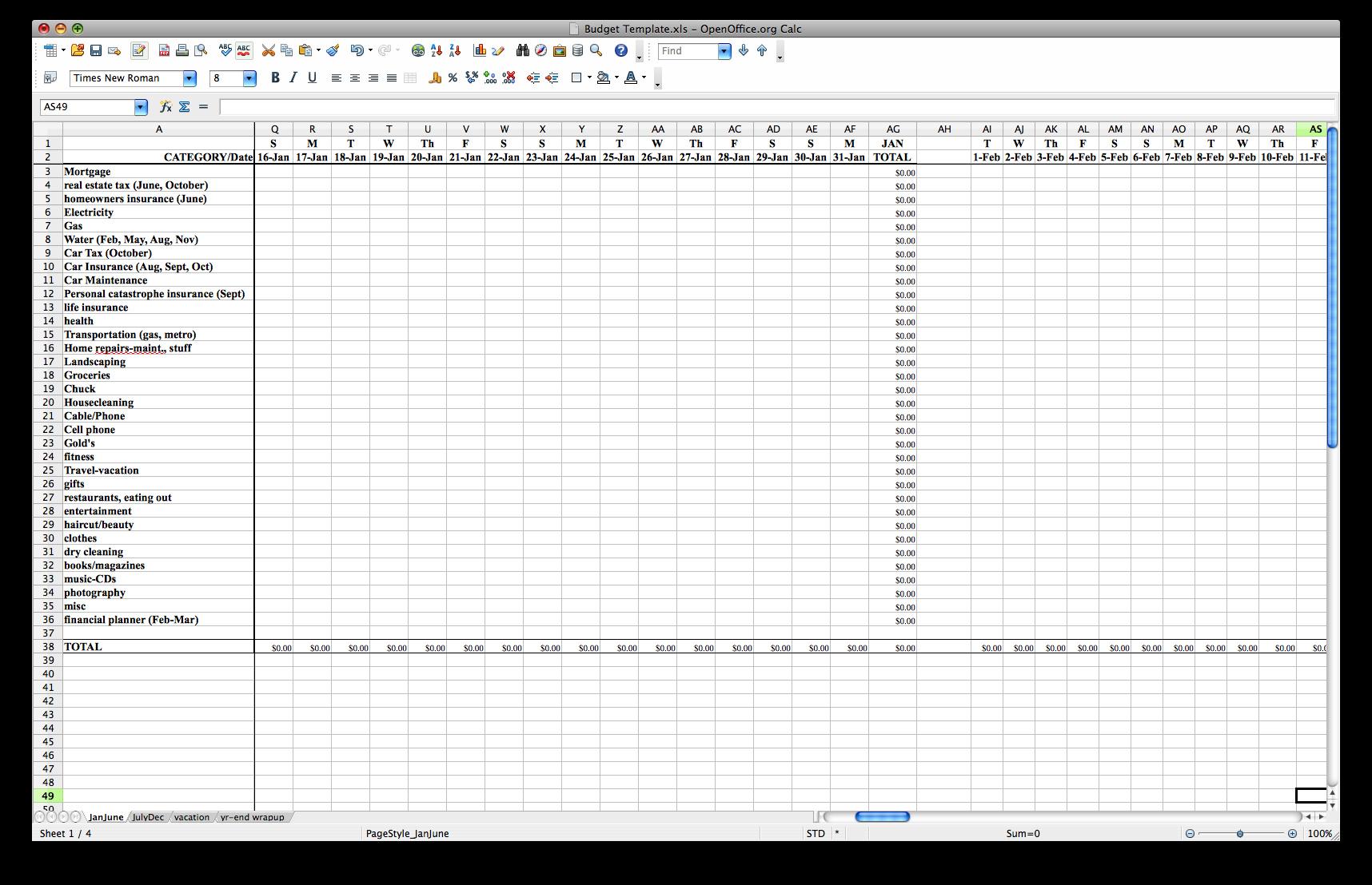 College Decision Spreadsheet Spreadsheet Downloa College