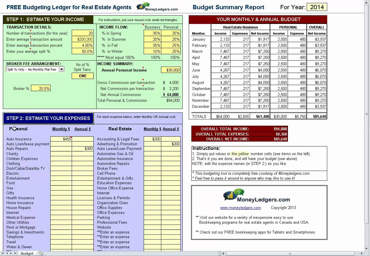 Commercial Real Estate Leaseysis Spreadsheet Intended