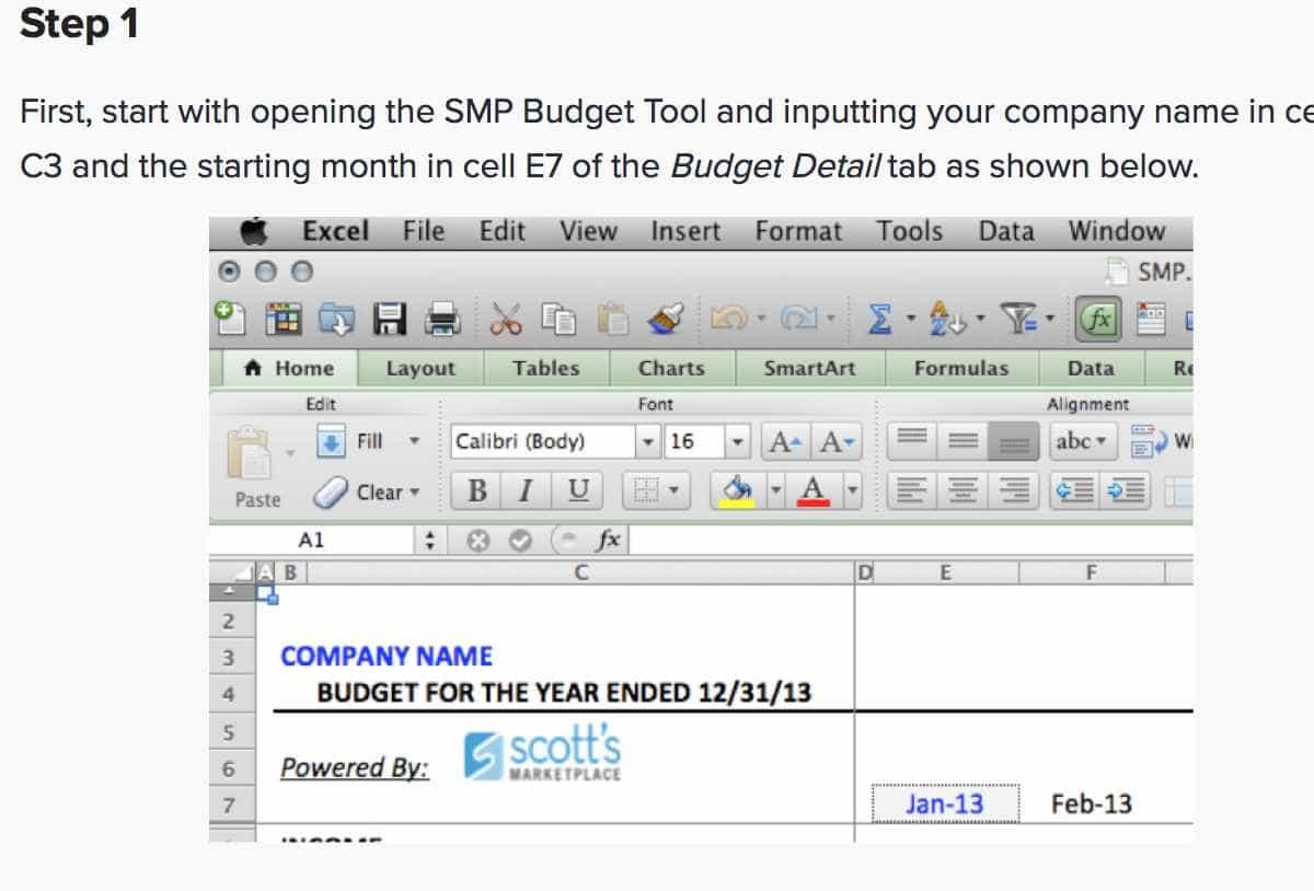 Company Spreadsheet Examples Regarding Examples Of