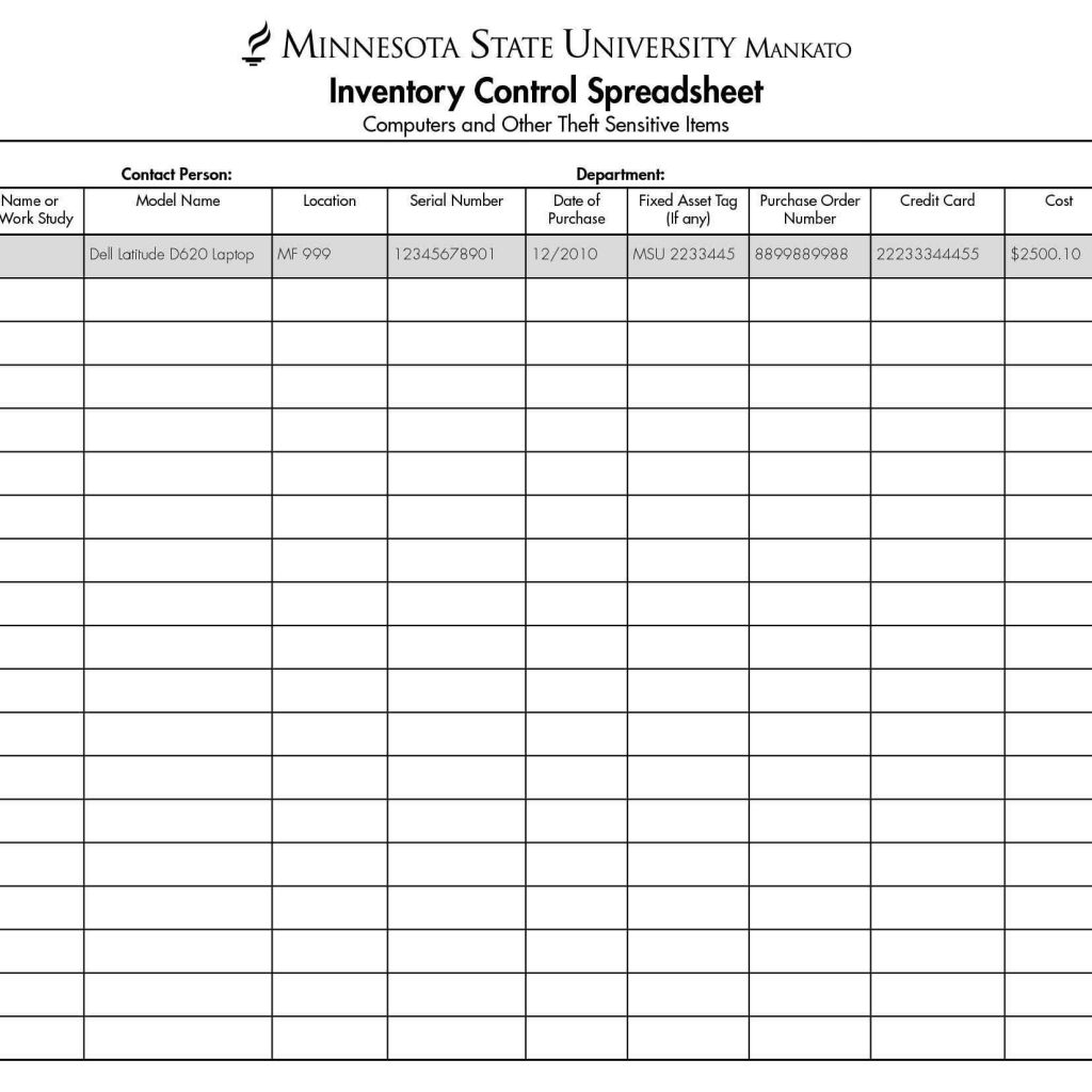 Consignment Inventory Spreadsheet Spreadsheet Downloa