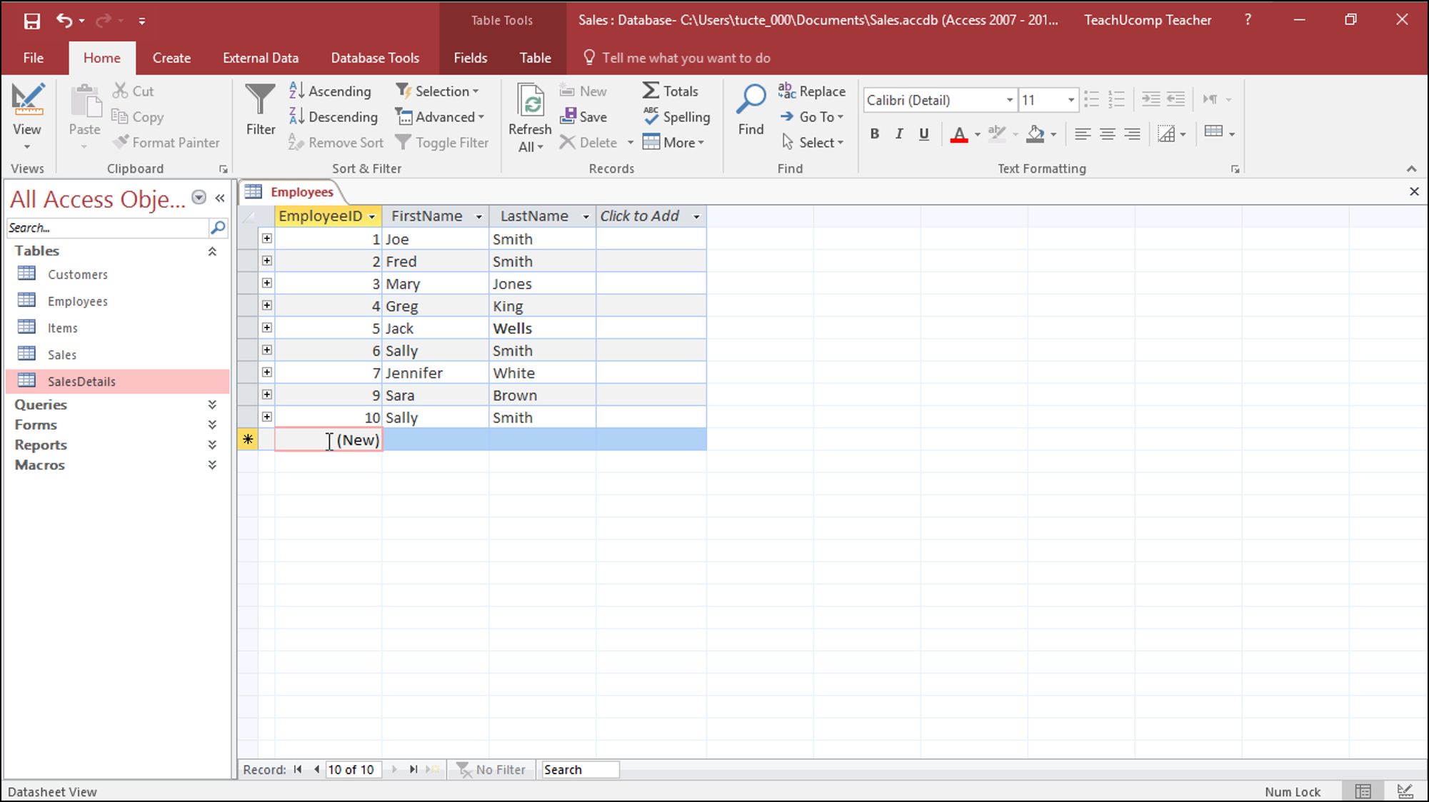 Convert Excel Spreadsheet To Access Database