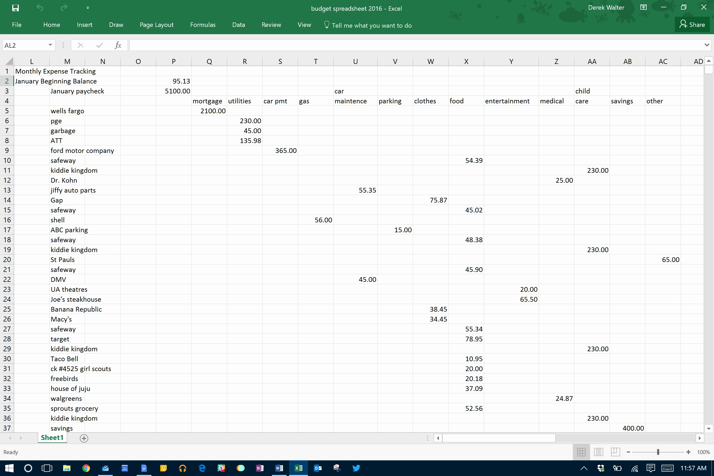 Cut And Fill Excel Spreadsheet