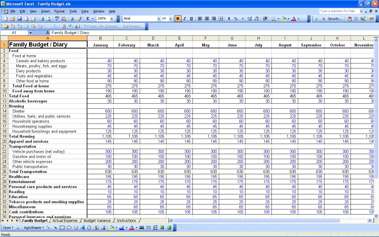 Daily Expense Spreadsheet Template Spreadsheet Downloa