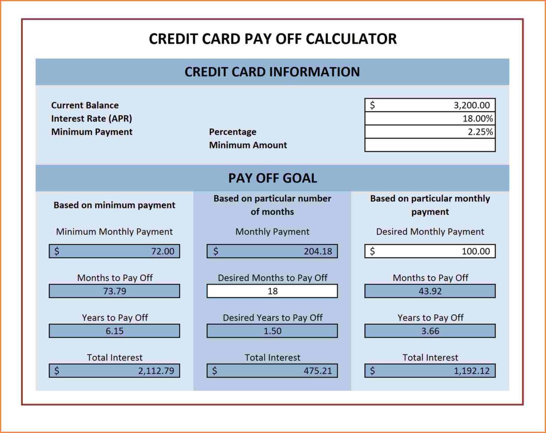 Debt Repayment Calculator Spreadsheet Spreadsheet Downloa