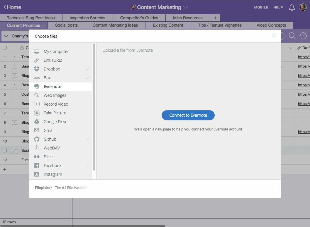 Evernote Spreadsheet Plugin Payment Spreadshee Evernote Spreadsheet Plugin